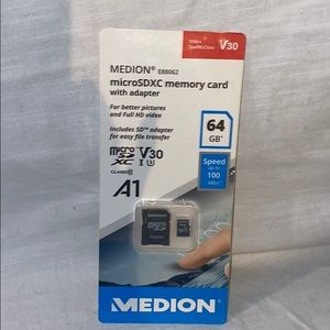 Other - NWT 64 GB SDXC Card w Adapter